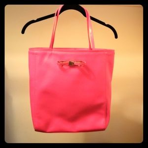 Ted Baker Hot Pink Tote
